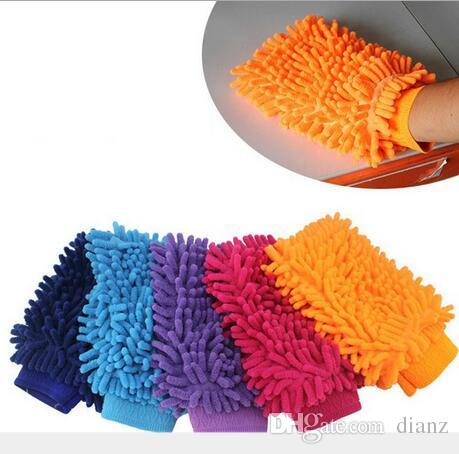 car wash gloves	  Microfiber Snow Neil fiber car wash mitt car washing gloves towel