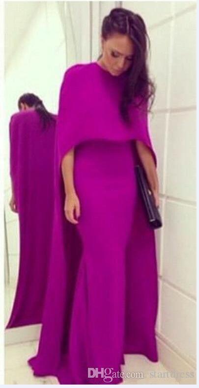 New Purple Dubai Evening Gown Elegant Mermaid Floor Length Long Prom Dresses Sexy Backless Arabic Evening Gowns Dresses Evening Wear Vestido