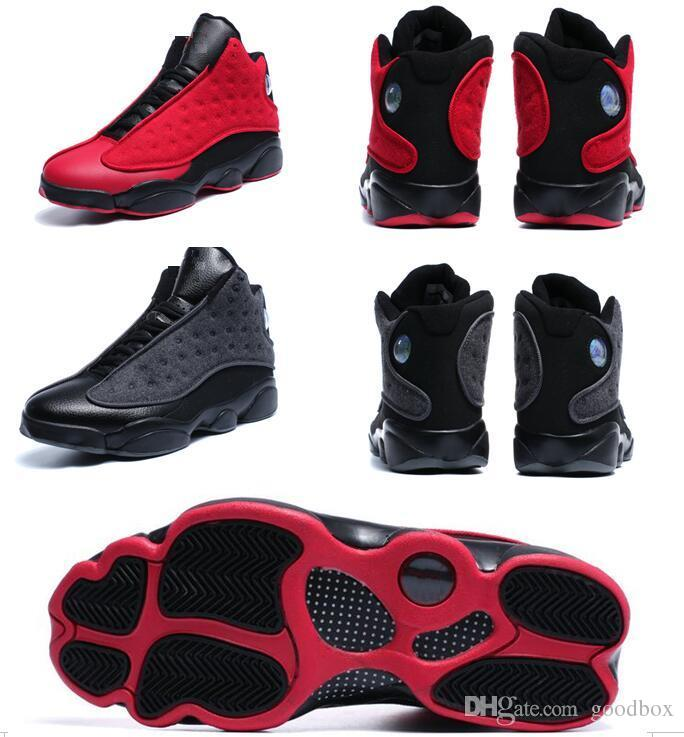 b806f1fe98b 13 Wool 13s Plush Black Red 3D Eye Wholesale Basketball Shoes Men With Box  Men Size Sneakers Online Shaq Shoes From Goodbox, $94.42| DHgate.Com