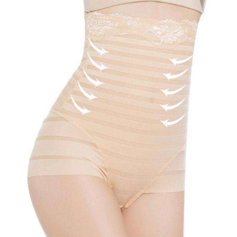 cb59a8d0f 2019 Wholesale High Quality Seamless High Waist Shapewear Underwear Women  Abdomen Body Shaper Tummy Control Panties L XXL From Silan
