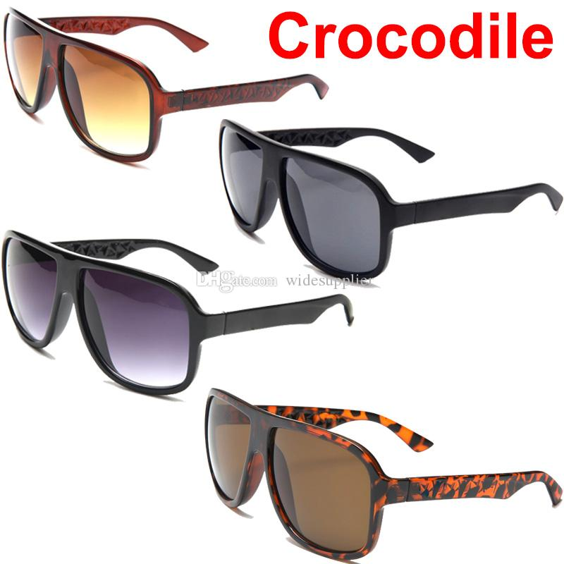 111f2d8661 New Brand Crocodile Mens Sunglasses Designer Frame Sun Glasses Retro Glasses  L2202 Black Sunglasses Good Quality Sunglasses Eyeglasses From  Widesupplier