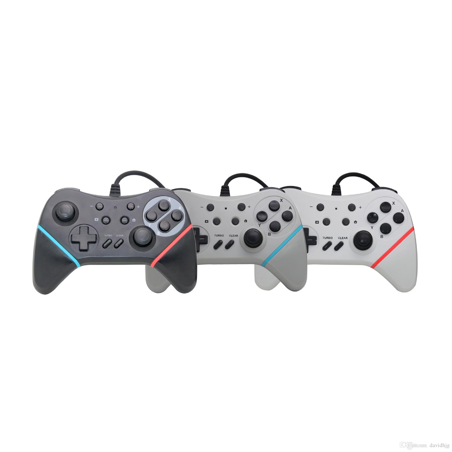 Newest Usb Wired Controller Gamepad For Nintendo Nintend Switch Ns Logitech F310 Support And Pc Games Gaming Play With Turbo Button Selling Old Electronics Best