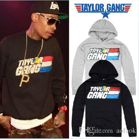 e2b956462dc0f TAYLOR GANG Hoodies Hiphop Men s Clothes Print Hip Hop Clothing ...
