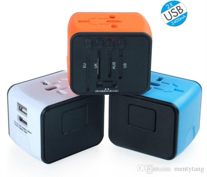 Travel Adapter and Charger USB Charging Ports Super Fast Charging All International Standard Cell Phone/Desktop/Laptop/Tablets