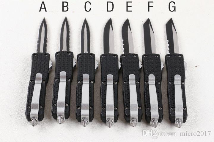 Facas automáticas mini D07 auto faca Triangaur 6 estilo c07 A161 3300 Caça Faca De Pesca De Bolso Faca de Sobrevivência de Bolso frete grátis