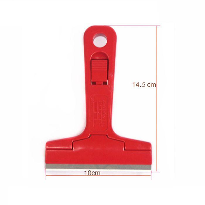 Mini Steel Shovel Squeegee Scraper for Remove Glue Shovel Knife Blade Cleaning Car Vinyl Film Sticker Phone LCD Touch Screen Digitizer