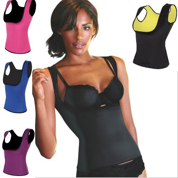 266597e2d2 6 Colors Cami Hot Shaper Trainer Body Shapers Corset Neoprene Sweat Belt  Slimming Waist Shaper Corsets Slim Underwear Faja Hot Shapers