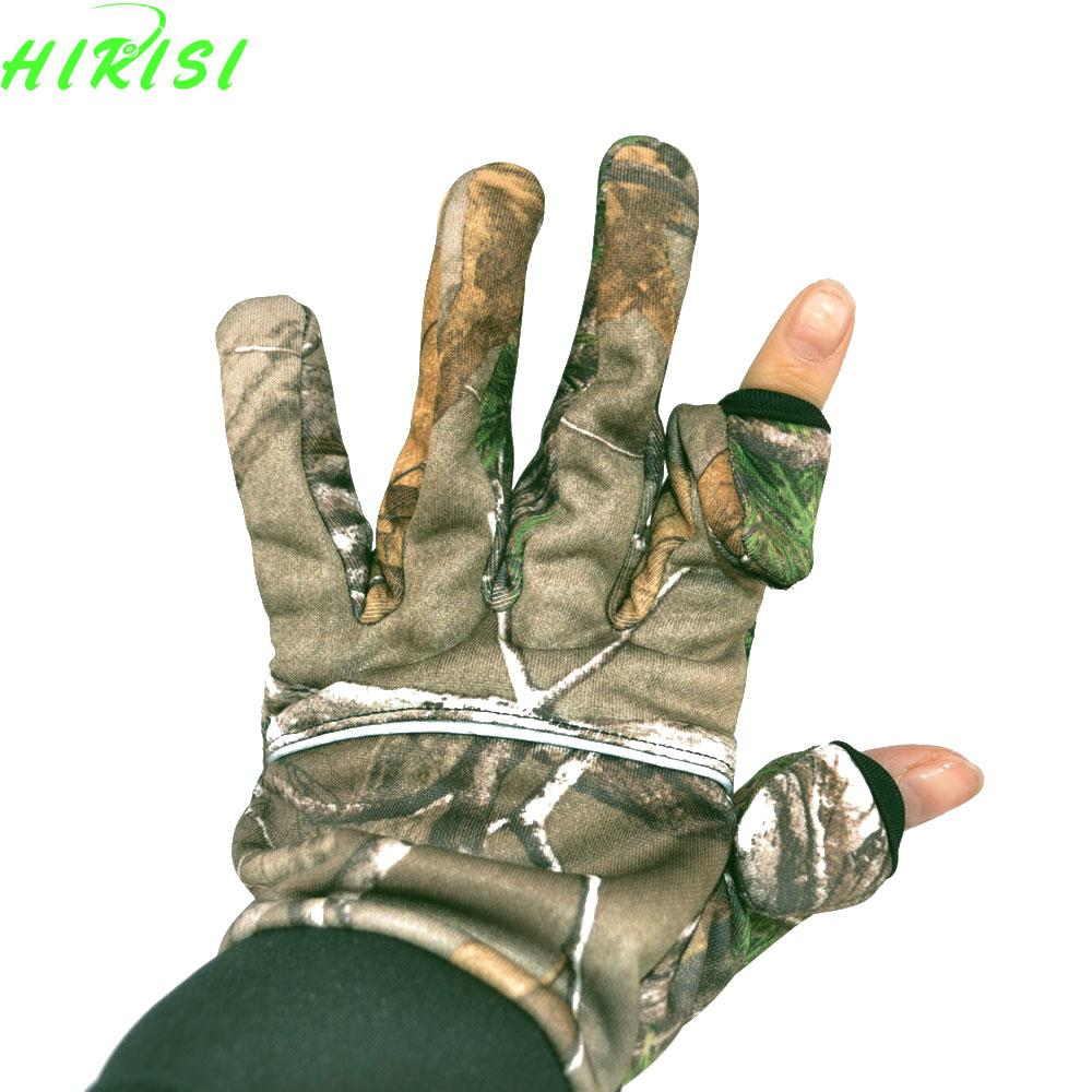 2019 Wholesale Camo Fishing Gloves Hunting Gloves Anti Slip 2