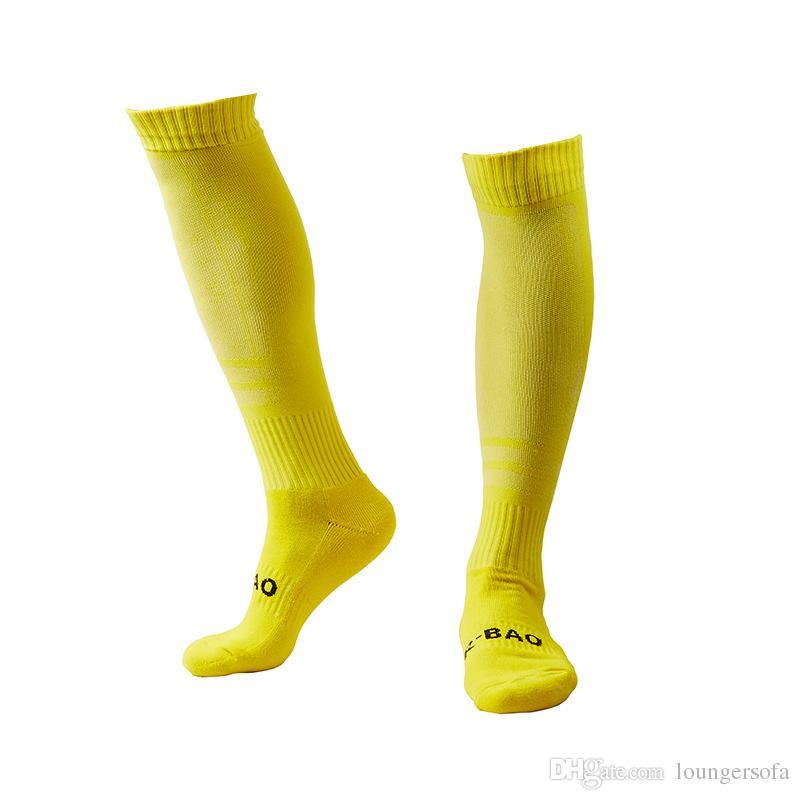 Fußball Socken neue langarm beinlinge für männer verdicken baumwolle towel bottom outdoor sports training strumpf 11 2qy f1