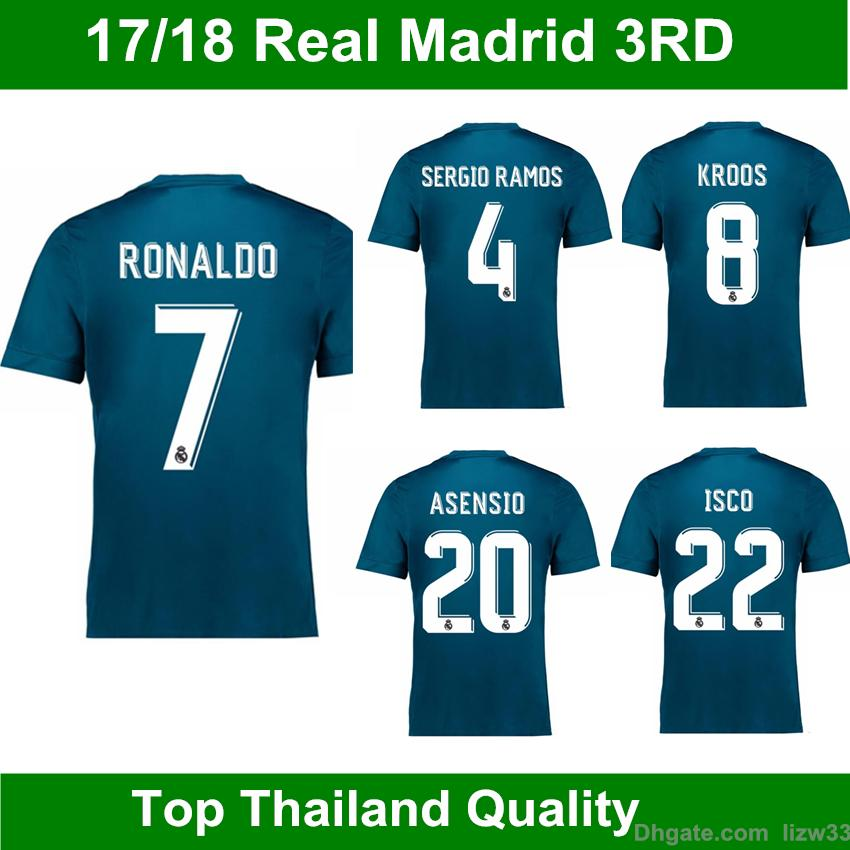 Maillot THIRD Real Madrid Asensio
