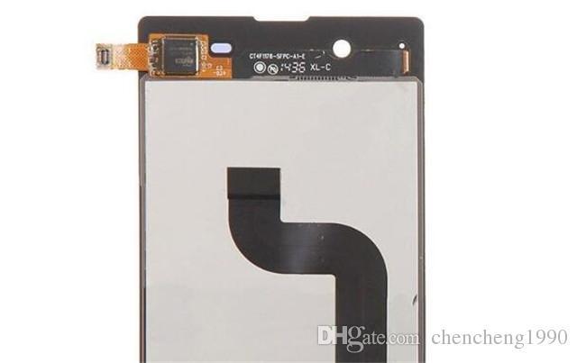 Sony E3 Testi için Yeni LCD Dokunmatik Ekran Digitizer Yedek D2202 D2206 D2243 Beyaz Siyah Ücretsiz Kargo