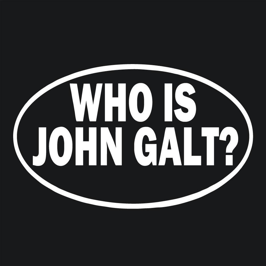 2019 who is john galt vinyl decal sticker car window wall bumper laptop from xymy777 1 31 dhgate com