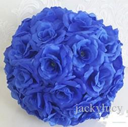 Online cheap romantic theme dark blue artificial silk flower ball online cheap romantic theme dark blue artificial silk flower ball hanging kissing balls 15 cm to 60cm ball for wedding party decoration supplies by mightylinksfo