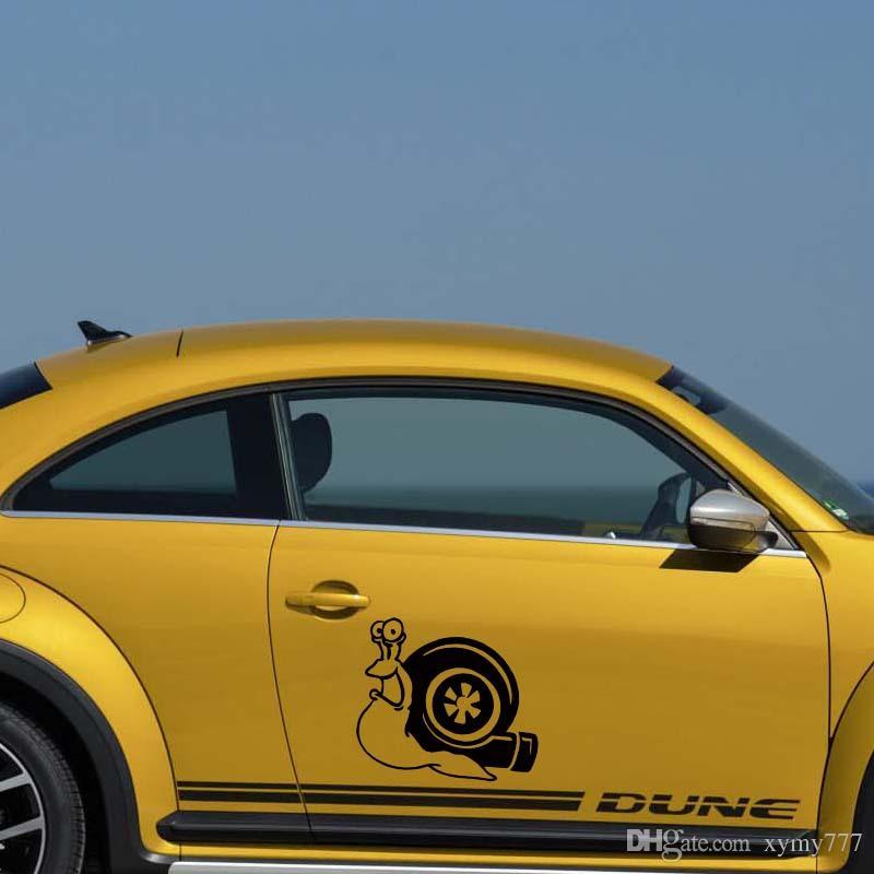 Für Schnecke Shell Cut Vinyl Aufkleber Aufkleber Persönlichkeit Auto Styling Turbolader Turbolader Jdm Euro Zubehör Dekor