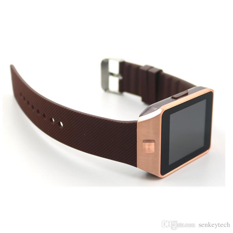 Dz09 akıllı saatler ile 1.56 inç destek bluetooth sim yuvası telefon görüşmesi yazmak İzle pedometre kamera iphone 6 plus 5 s samsung s6 için not 4