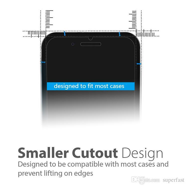 Tam Kapak Gizlilik Temperli iPhone 12 x XS XR 8 Plus Anti-Spy Ekran Koruyucu 9H Sertlik temperli cam Perakende Kutusu