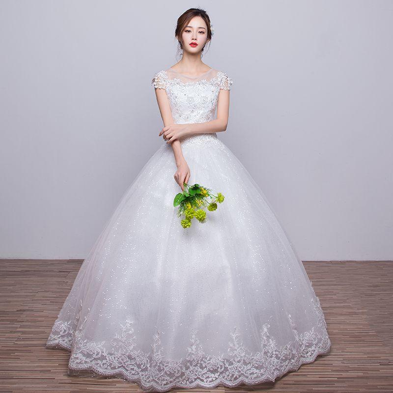 Wedding Dress New Spring Show Thin Slim Trailing Sweet Dream Fantasy ... 560cde9b3fac