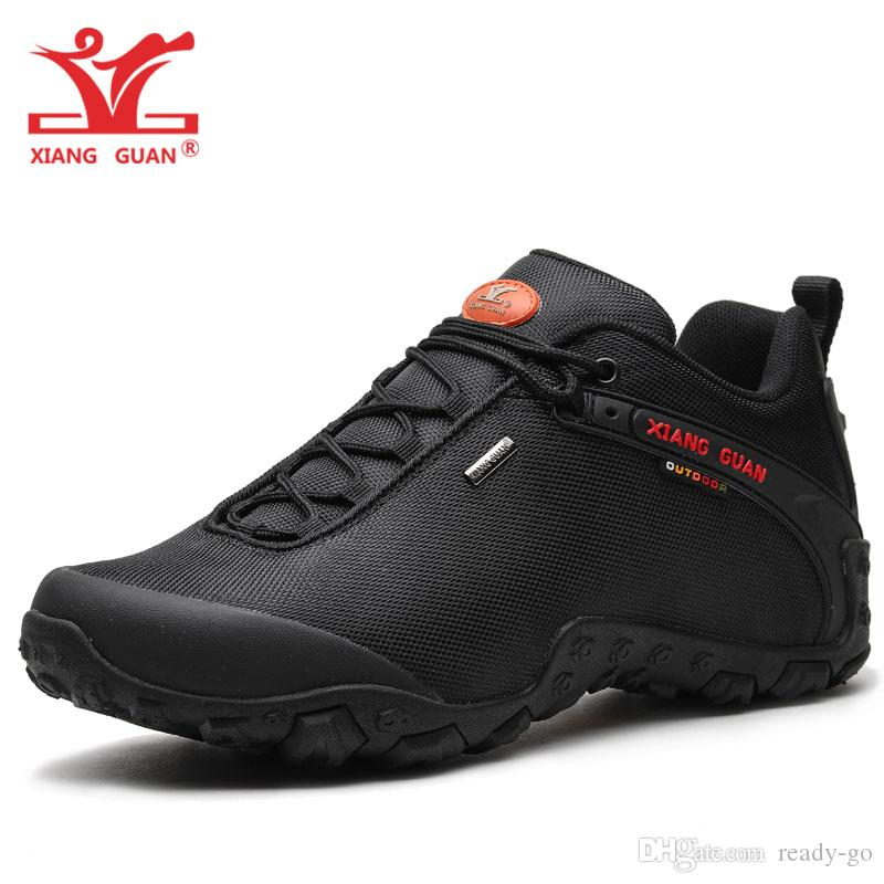 d2ae21103f4 Acheter 2018 Hommes Chaussures De Randonnée Imperméables Pour Femmes Bottes  De Sport En Maille Escalade Sports De Montagne Chaussures Jungle Randonnée  En ...