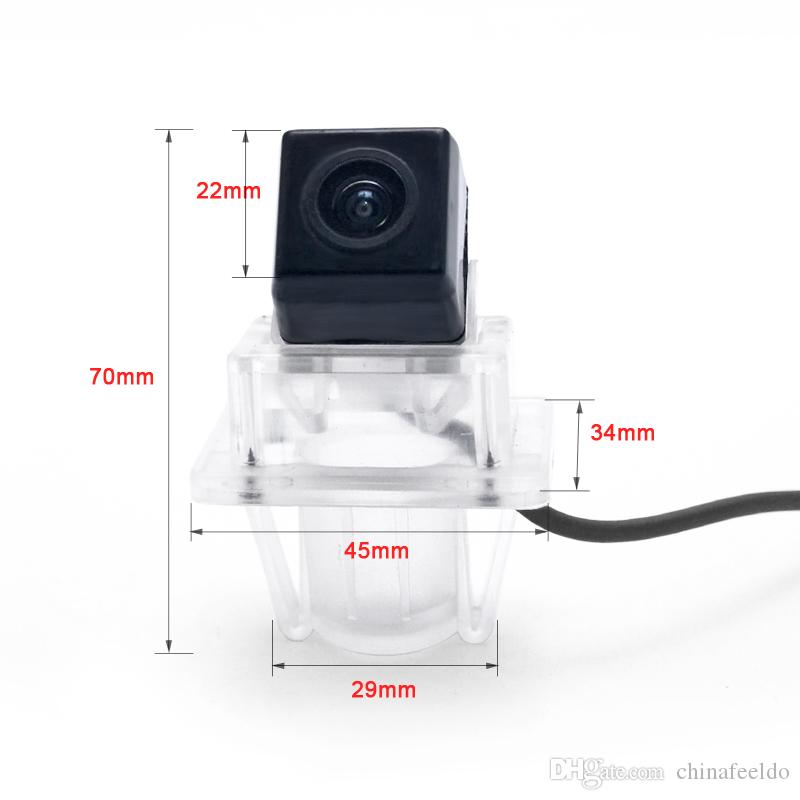 LEEWA Special Rear View Car Camera For Mercedes-Benz C Class/E Class Reverse Backup Camera # 4798