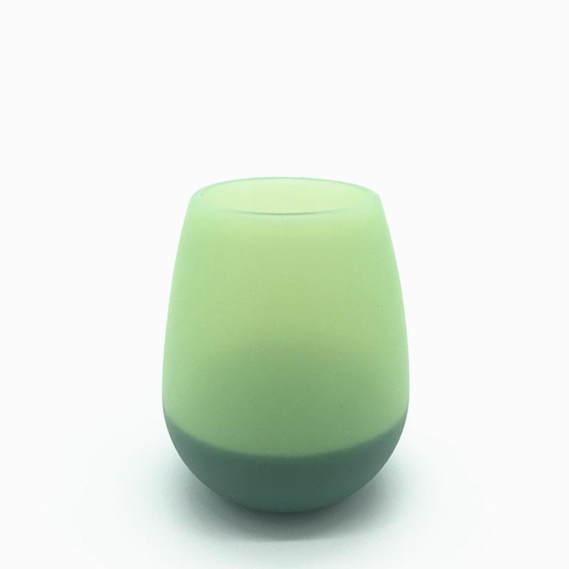2017 силиконовые бокал Stemless стакан резиновая кружка пива Эко небьющиеся чашки для коктейля питьевой открытый кемпинг портативный бокалы