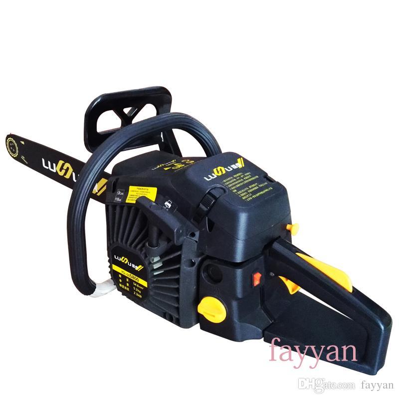 2018 Garden Tools Petrol Gasoline Chain Saw Wood Cutting ...