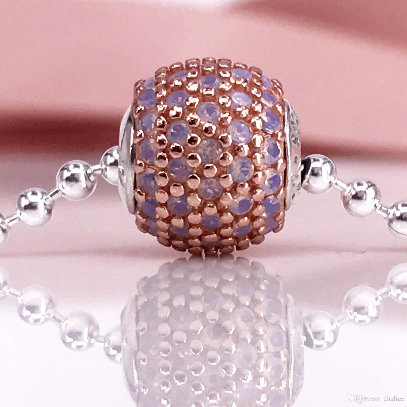 Estilo europeo de la joyería 925 Sterling Bead Love Essence Style Fit DIY pulsera 796064NOP