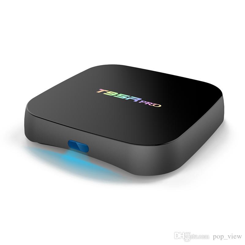 T95R Pro Android 7.1 tv box amlogic S912 Octa core cortex A53 2.0GHz ddr4 2GB+16GB 3G+16GB 3G+32G 4k hd media player iptv smart ott boxes