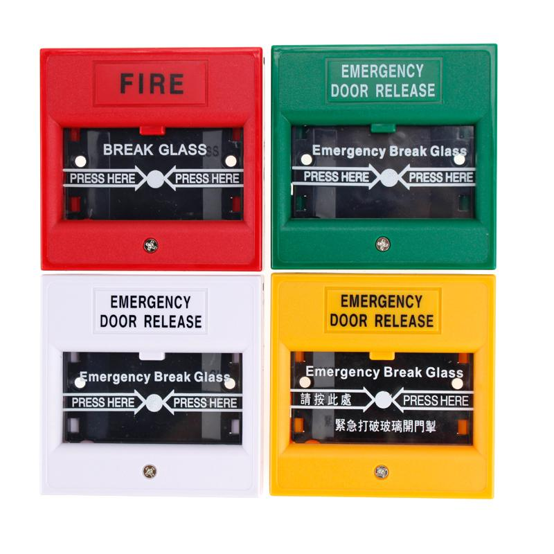 2018 Wholesale Full Colors Nonccom Emergency Break Glass Alarm