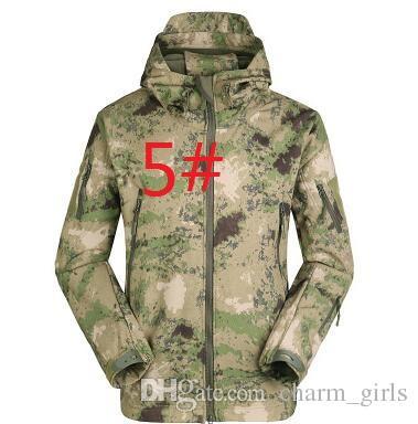 Heiße verkäufe Lurker Shark haut Soft Shell Outdoor Militärische Taktische Jacke Wasserdicht Winddicht Sport Armee camouflage bekleidung ACU CP