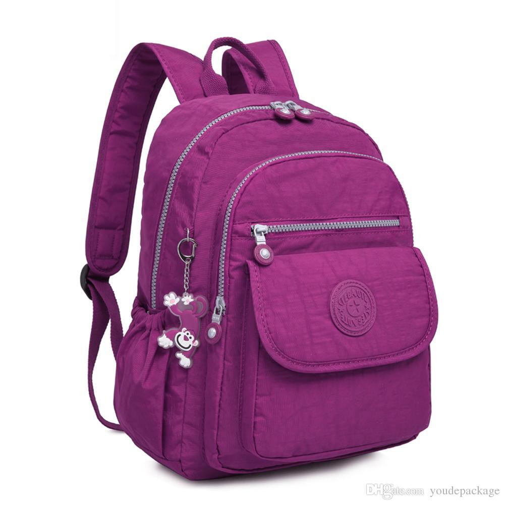 TEGAOTE Mini Small Backpack for Teenage Girls Nylon Backpacks ...