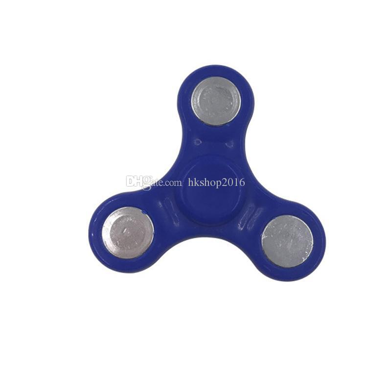 HandSpinner Fingertips Spiral Fingget Spinner EDC Hand Spinner Acrílico Plástico Fidgets Juguetes Gyro Toys Con el bolso opp