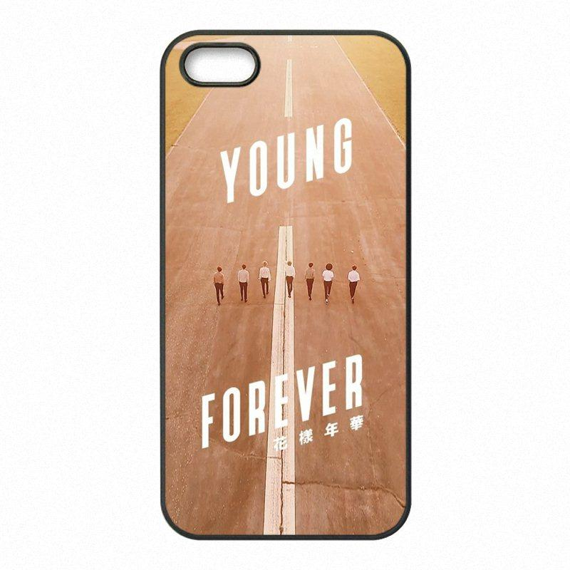 the best attitude 9bb94 41593 BTS Bangtan Boys Phone Covers Shells Hard Plastic Cases for iPhone 4 4S 5  5S SE 5C 6 6S 7 Plus ipod touch 4 5 6