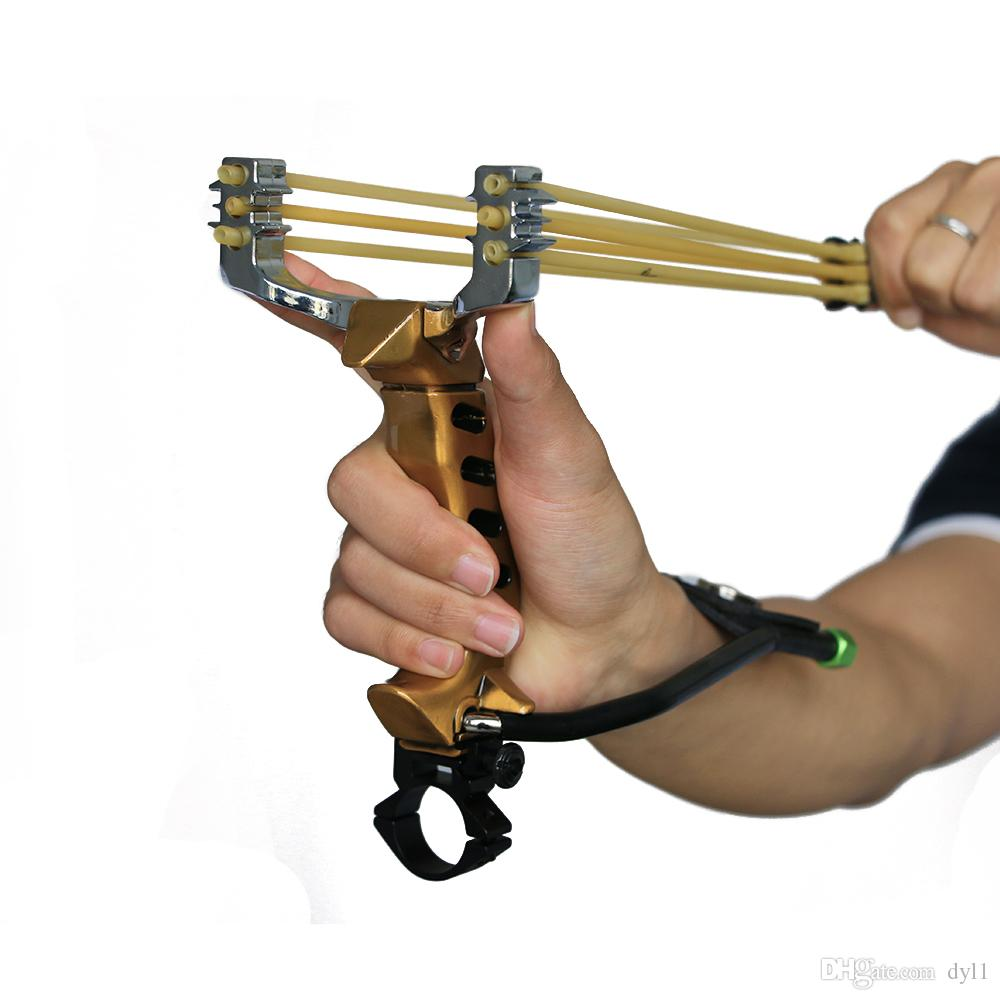 Online Cheap High Quality Professional Hunting Slingshot