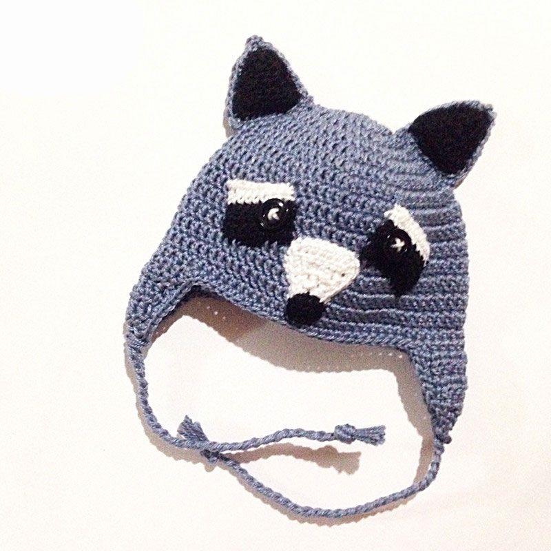 2019 Novelty Raccoon Hat 423915f944a