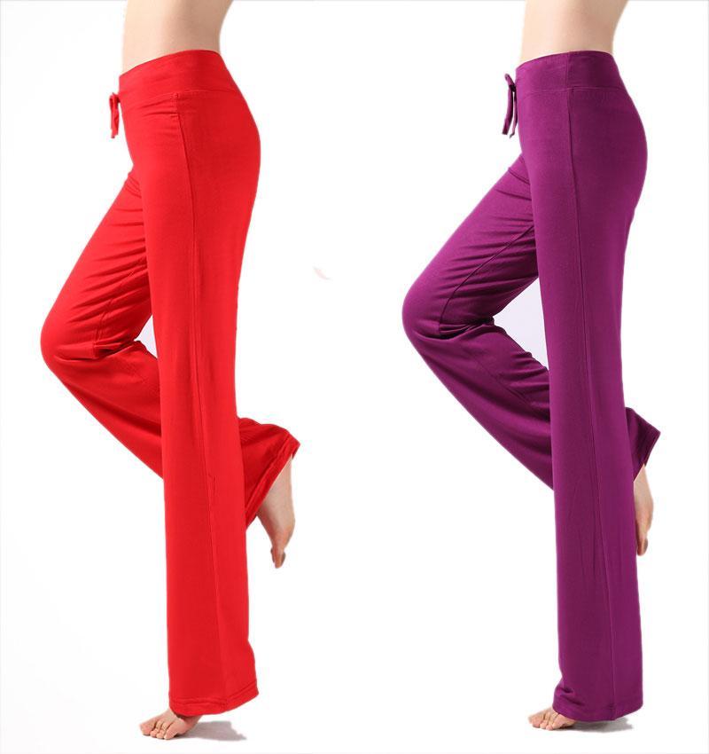 Women Casual Harem Pants High Waist Pants Dance Club Wide Leg Loose ... d341ecbeb092