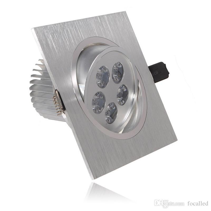 La alta potencia al por mayor 15w 21w llevó el downlight del techo llevó las luces ahuecadas del punto dimmable llevó la lámpara AC110-240v blanco cálido 3000K 60angle