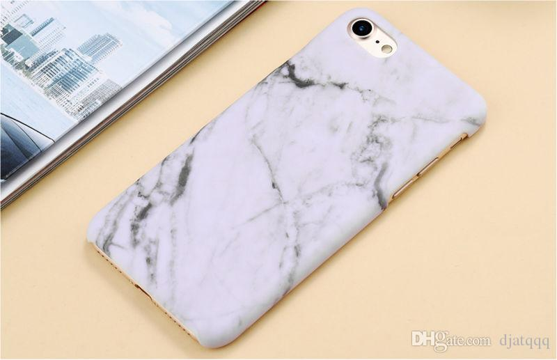 Luxury Smooth Hard PC Phone Cases For iPhone 7 Marble Stone Skin Back Cover Case Capa Coque For iPhone7 6 6s Plus 5 5s SE