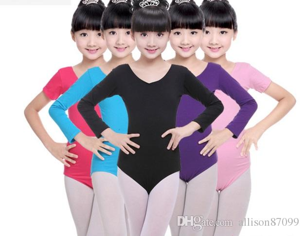 3436a2e5b 2019 Leotard For Children Ballet Bodysuit Girls Dancewear Gymnastics ...