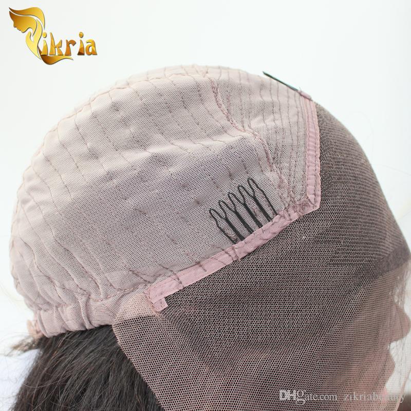 Unprocessed Brazilian Virgin Straight Hair Wigs Lace Front Glueless Malaysian Indian Peruvian Human Hair Full Lace Wigs Cheap Price Wigs