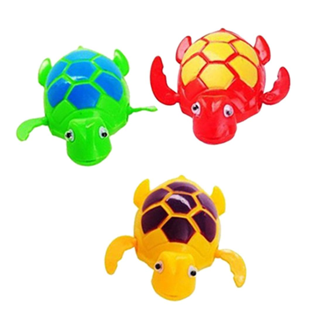 2018 Wholesale Hot Sale Baby Bath Toy Kids Funny Clockwork Dabbling ...