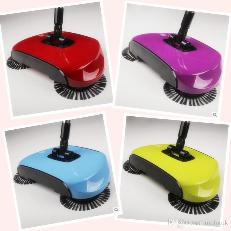 ماجيك 360 مكنسة كنس بدون كهرباء دفع نوع مكنسة منزلية مجموعة كاسحة قطعة أثرية مجرفة تنظيف المنزل