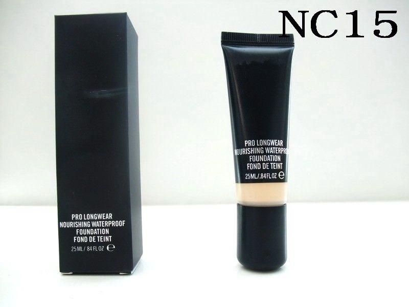 HOTsale новый макияж Pro Longwear питательный водонепроницаемый фонд Фонд де Teint 25 мл 6 цветов DHL Бесплатная доставка