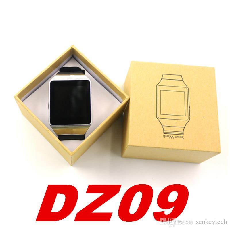 1шт DZ09 смарт часы телефон с одной SIM Bluetooth смарт часы DZ09 смарт наручные часы для Samsung Галактики для iPhone компания Huawei LG Сони