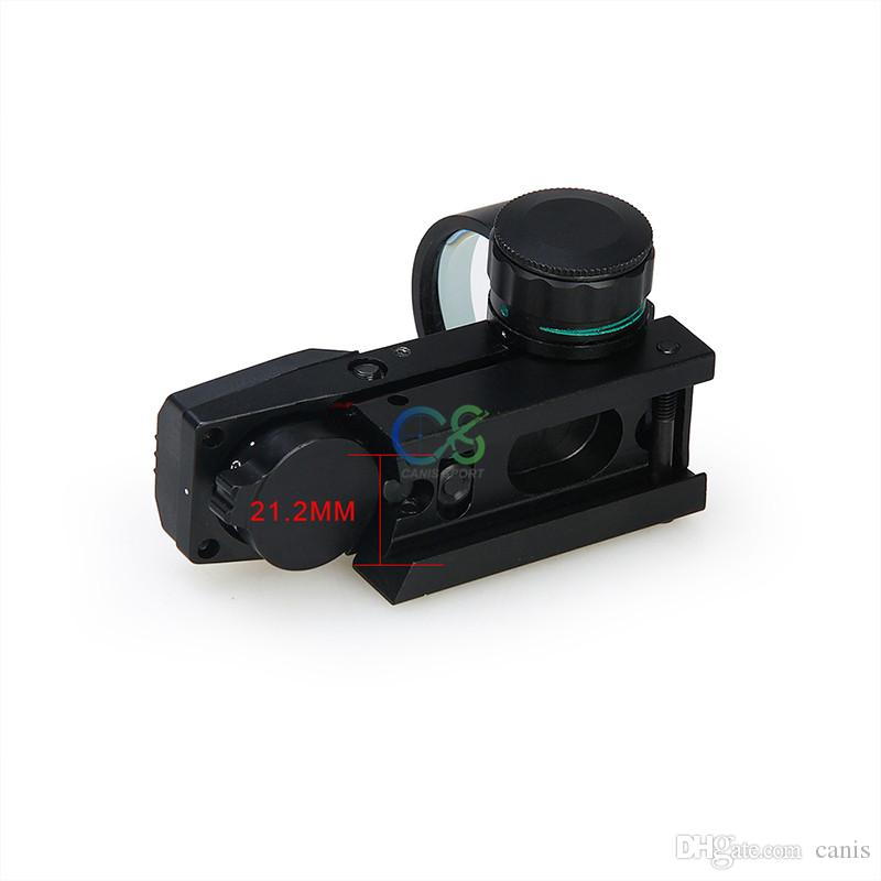 PPT New Arrival Red Dot Scope 4 Reticle Red Dot Scope 22mm Base For Tactical CL2-0098