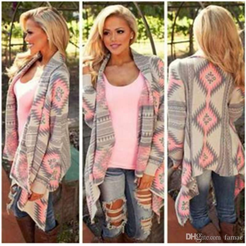 2018 Wholesale Poncho Fashion Women'S Cardigan Shrug Sweaters ...