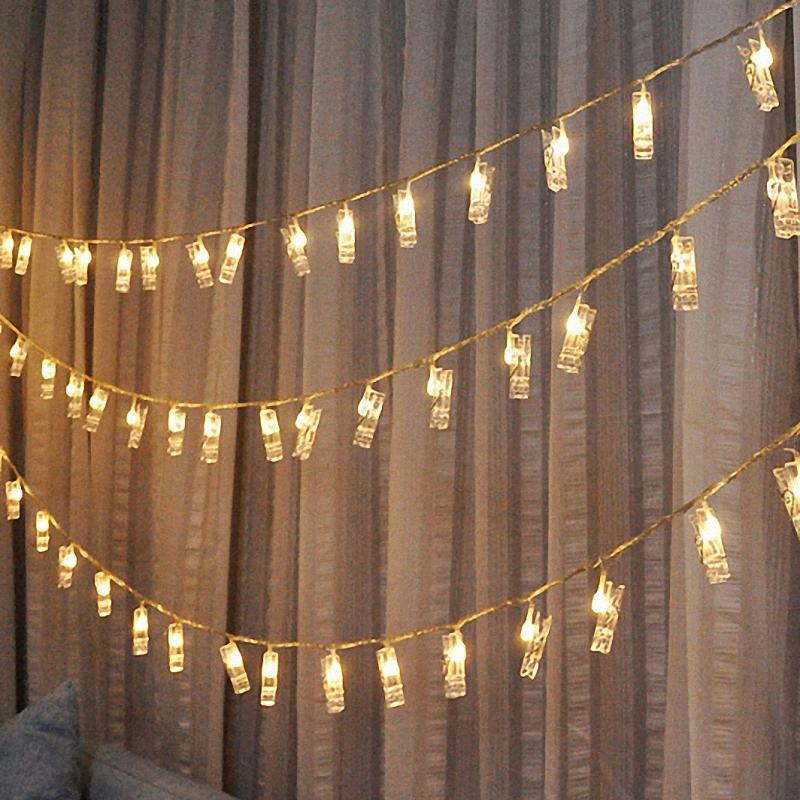 Wholesale romantic battery fairy string light garland lamp novelty wholesale romantic battery fairy string light garland lamp novelty light photo clip luminaria for festival christmas wedding decoration led string lights aloadofball Choice Image