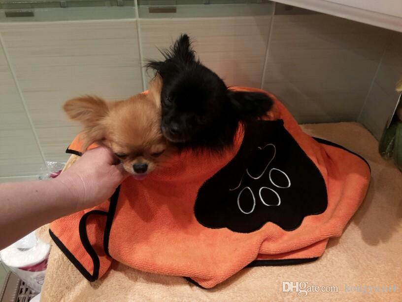 Hundekatze, die notwendiges Haustier-trocknendes Tuch säubernd ultra-saugfähiges Hundebadetuch gemacht durch Microfiber 86 * 49cm hochwertiges Haustier-Produkt