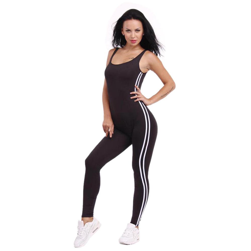 b182915eb42f Wholesale- Womens Jumpsuit Sexy Backless Overalls Sleeveless Solid ...