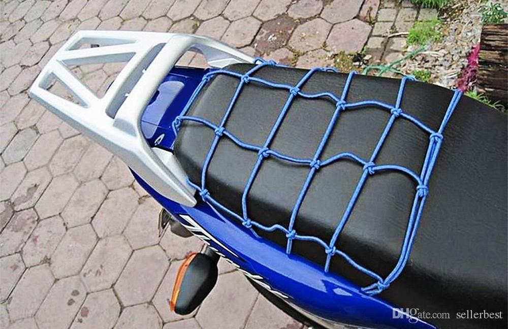 CS - 098 moto bagages sac filet sac de casque étirable maille transporteur de stockage décoratif avec matériel en cuir livraison gratuite