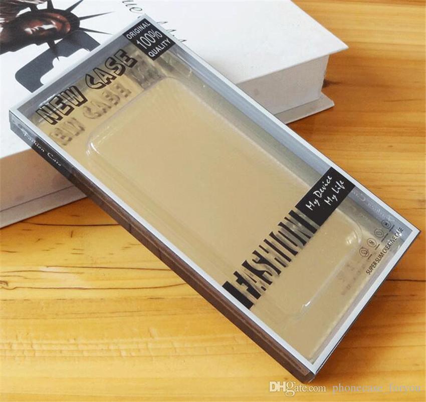 Universal Cell Phone Case boîte d'emballage emballage de détail Vider PVC Emballage plastique d'emballage Boîte téléphone portable de la suspente